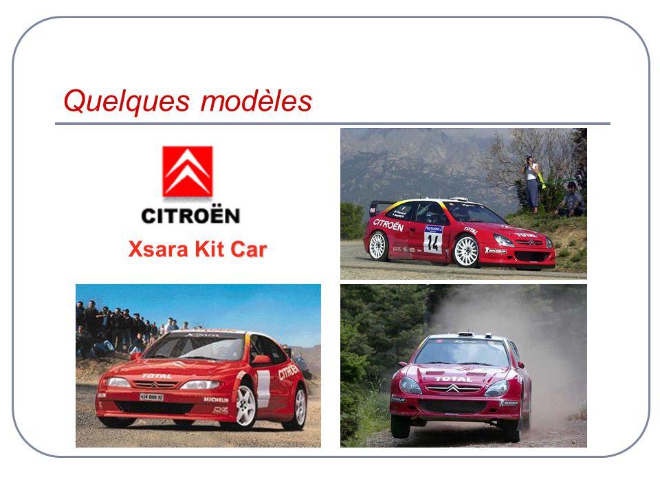 Quelques modèles Xsara Kit Car
