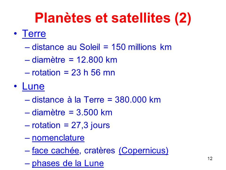 Initiation a l 39 astronomie ppt t l charger - Distance entre la terre et la couche d ozone ...