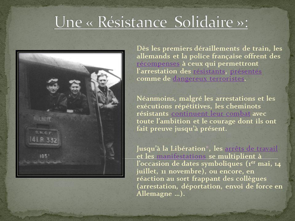 Une « Résistance Solidaire »: