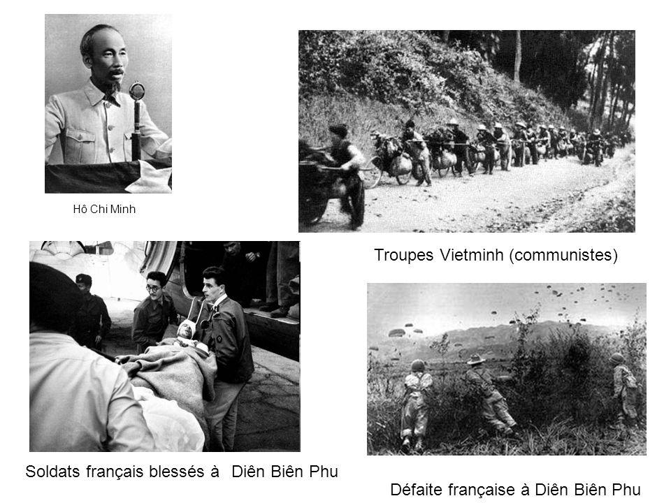 Troupes Vietminh (communistes)