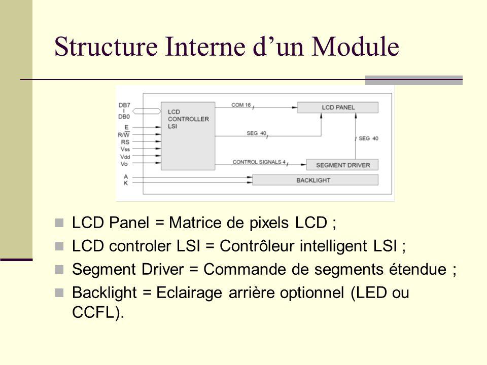 Structure Interne d'un Module