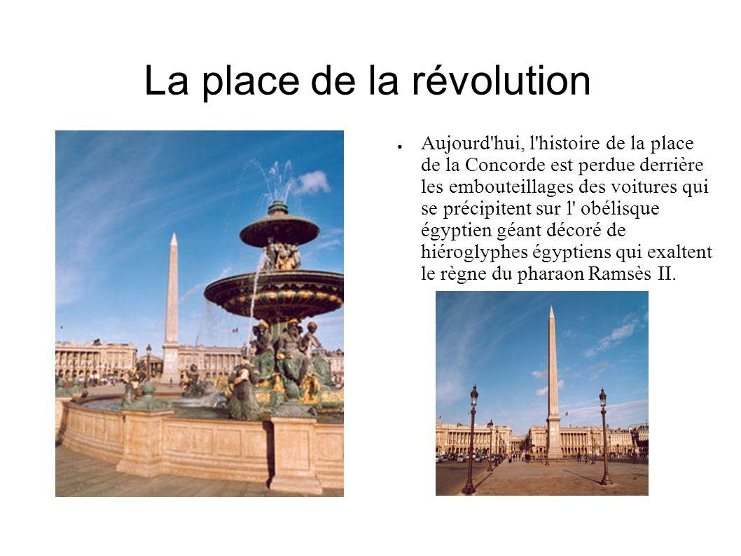 La place de la révolution