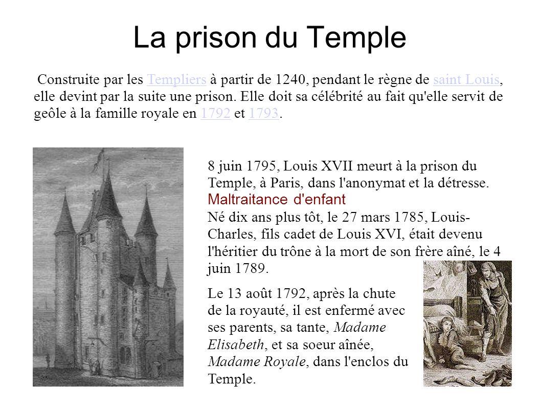 La prison du Temple