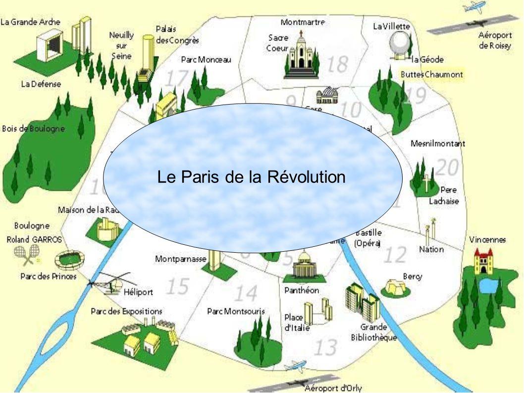 Le Paris de la Révolution
