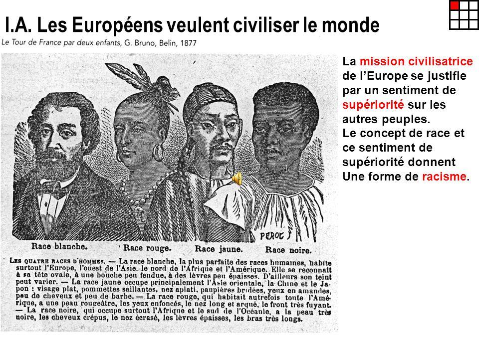 I.A. Les Européens veulent civiliser le monde