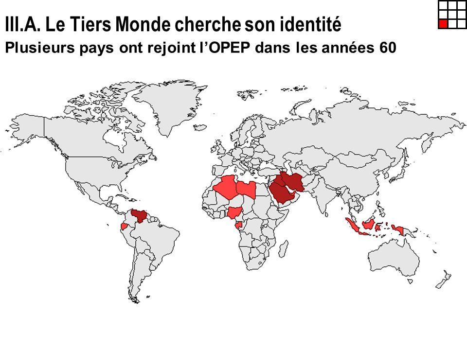 III.A. Le Tiers Monde cherche son identité