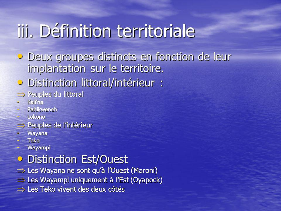 iii. Définition territoriale