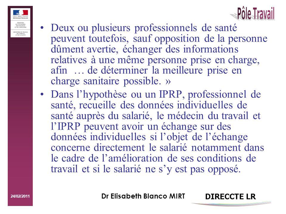 Dr Elisabeth Blanco MIRT