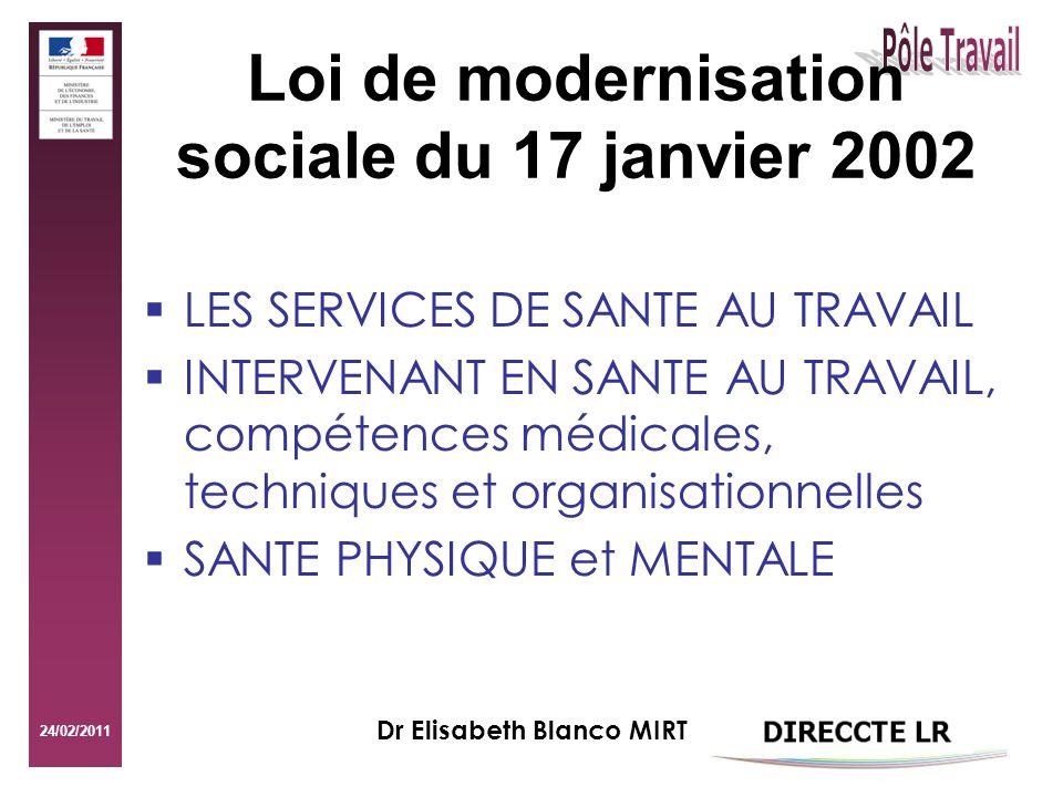 Loi de modernisation sociale du 17 janvier 2002