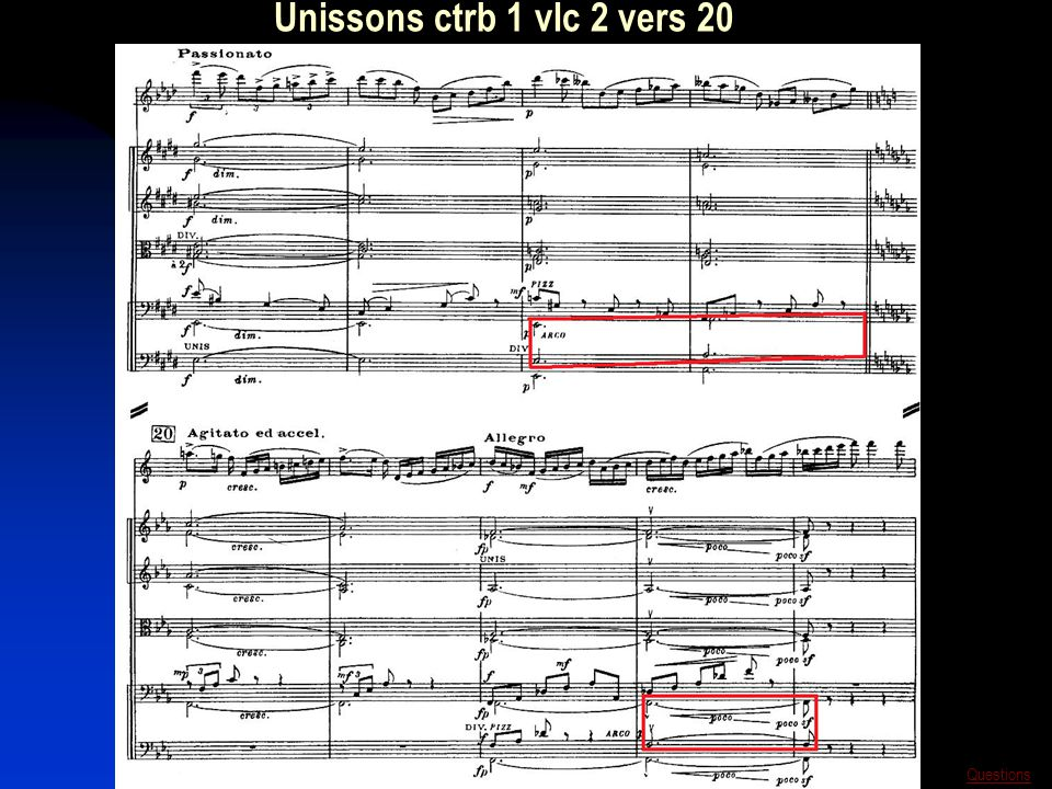Unissons ctrb 1 vlc 2 vers 20 Questions