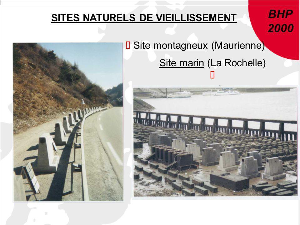 SITES NATURELS DE VIEILLISSEMENT