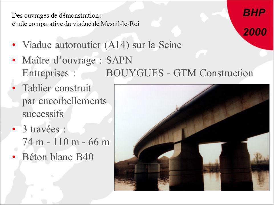 Viaduc autoroutier (A14) sur la Seine