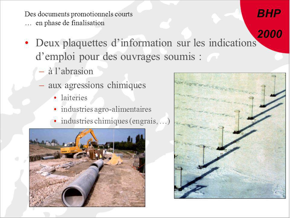 Des documents promotionnels courts … en phase de finalisation