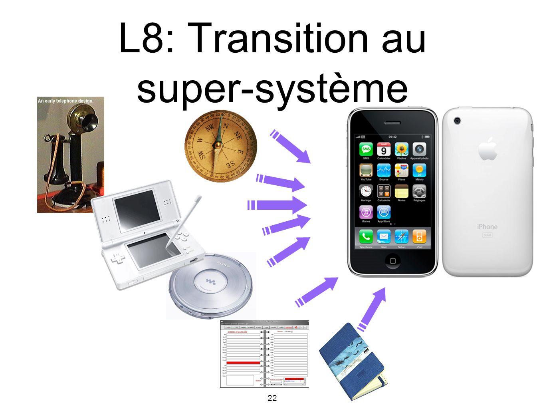 L8: Transition au super-système