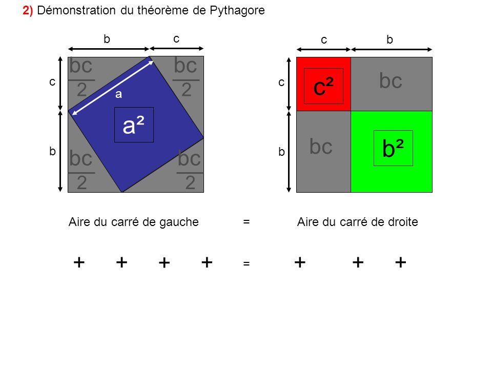 c² a² b² bc bc bc bc bc bc + + + + + + + 2 2 2 2
