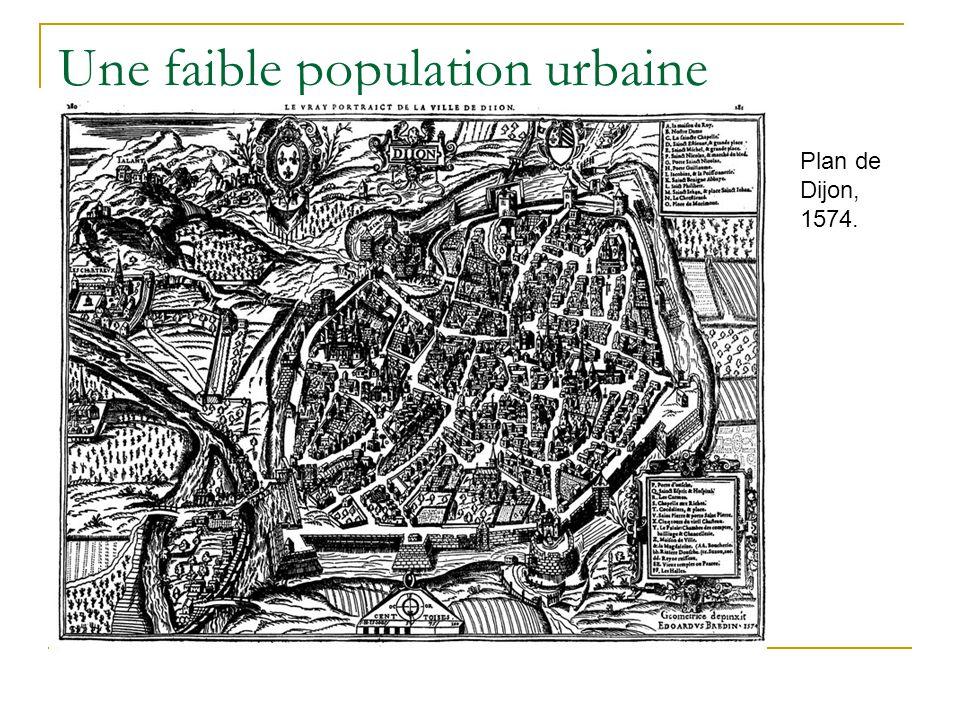 Une faible population urbaine