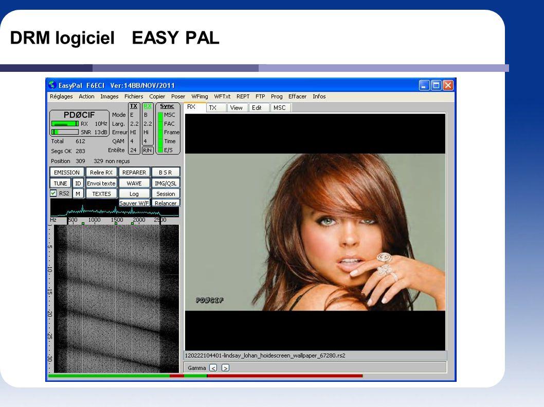 DRM logiciel EASY PAL