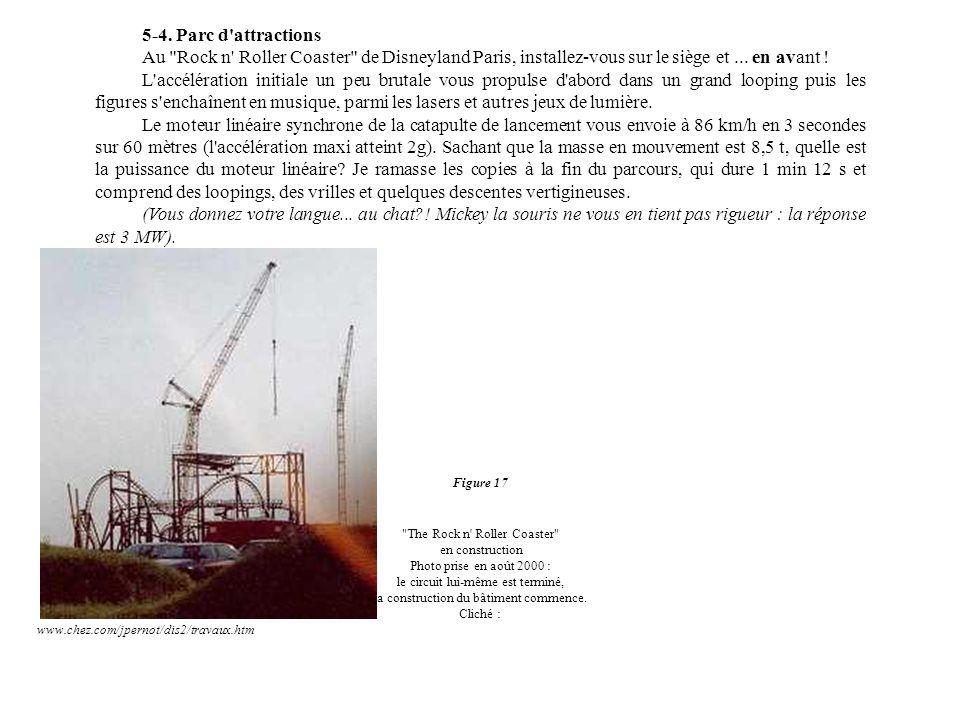 5-4. Parc d attractions Au Rock n Roller Coaster de Disneyland Paris, installez-vous sur le siège et ... en avant !