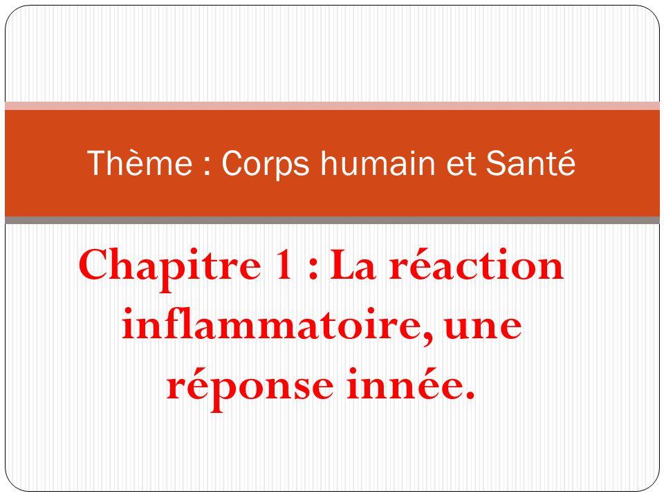 Thème : Corps humain et Santé