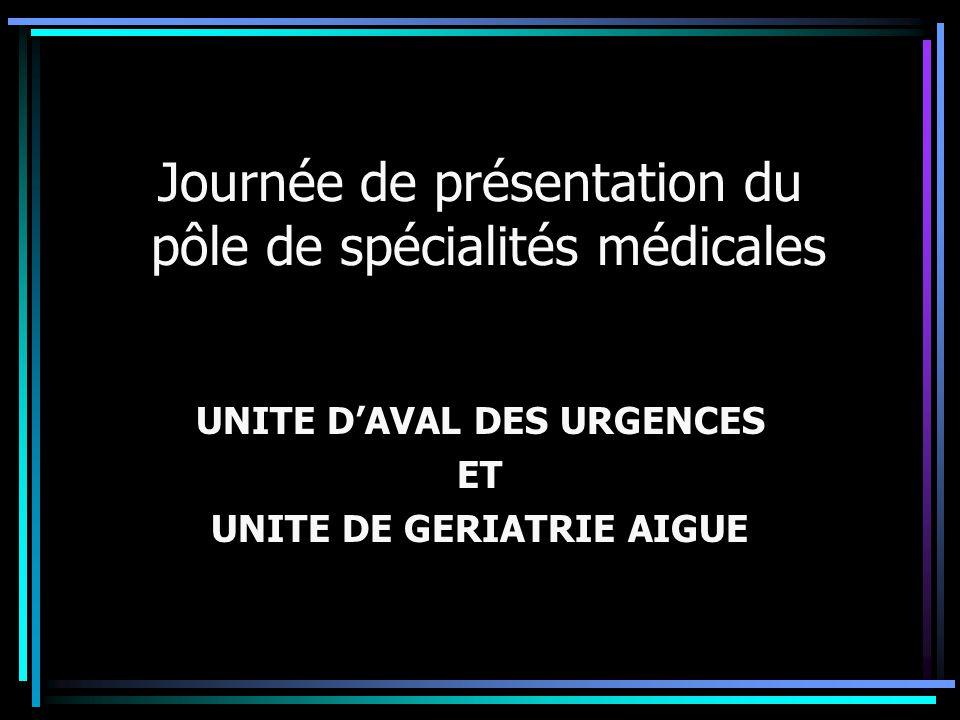 Journée de présentation du pôle de spécialités médicales