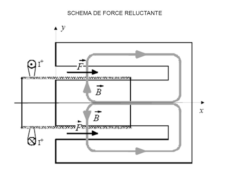 SCHEMA DE FORCE RELUCTANTE