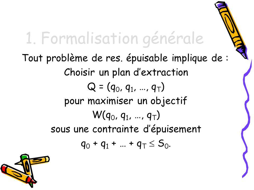 1. Formalisation générale