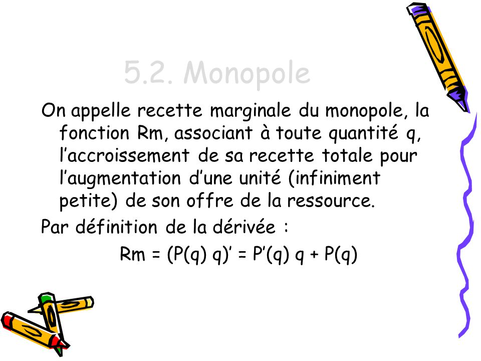 Rm = (P(q) q)' = P'(q) q + P(q)