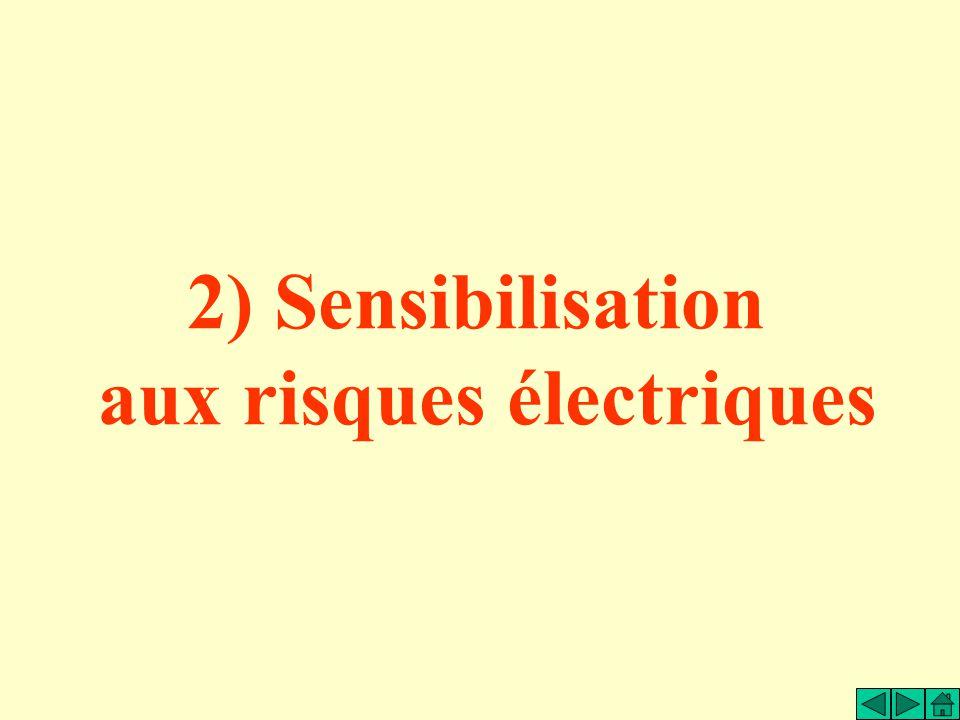 aux risques électriques