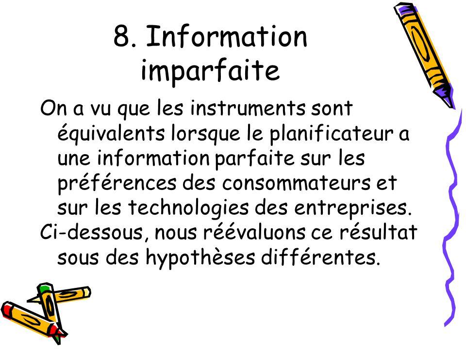 8. Information imparfaite