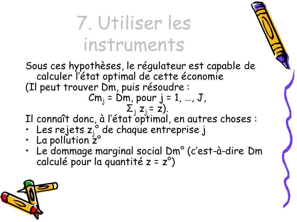7. Utiliser les instruments