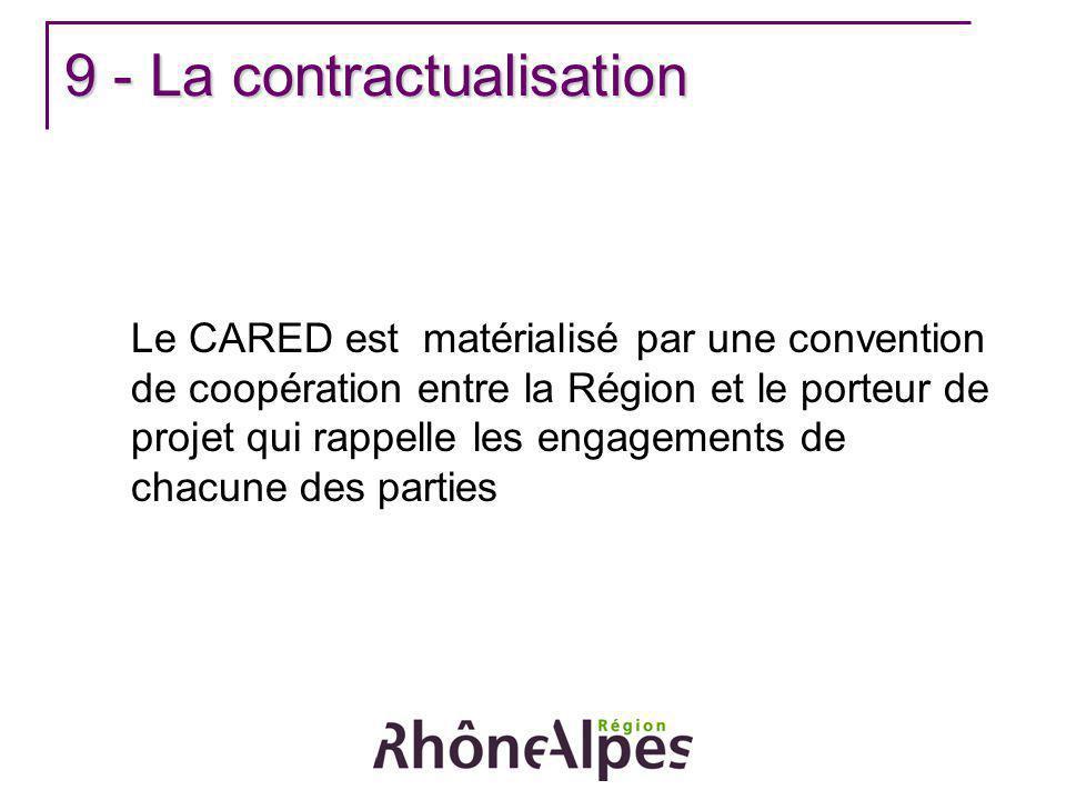 9 - La contractualisation