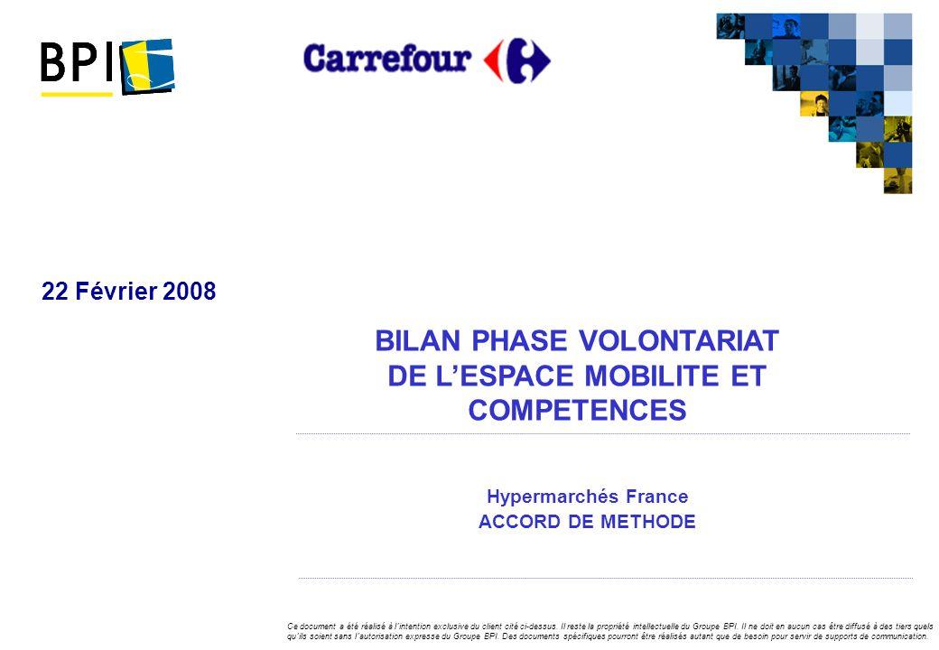 Hypermarchés France ACCORD DE METHODE