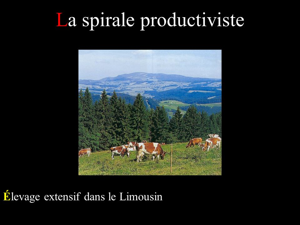 La spirale productiviste