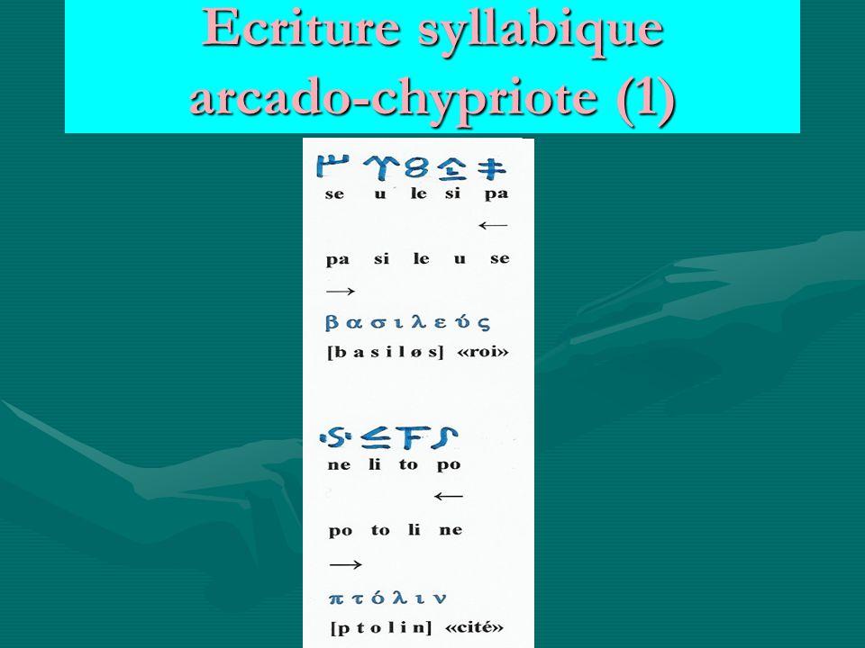 Ecriture syllabique arcado-chypriote (1)