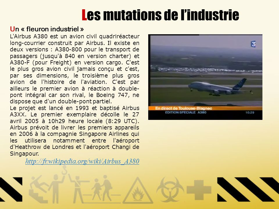 Les mutations de l'industrie