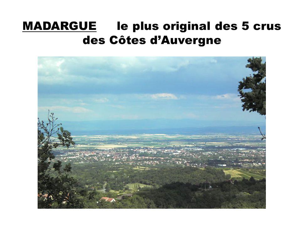 MADARGUE le plus original des 5 crus des Côtes d'Auvergne