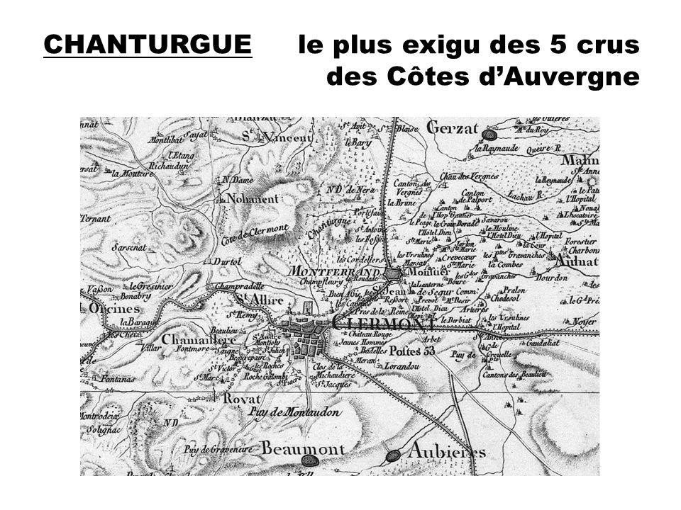 CHANTURGUE le plus exigu des 5 crus des Côtes d'Auvergne