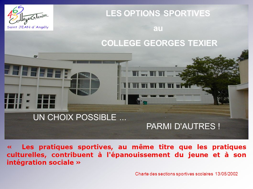 COLLEGE GEORGES TEXIER