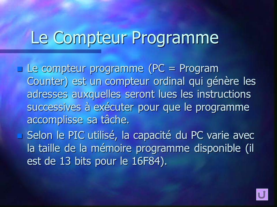 Le Compteur Programme