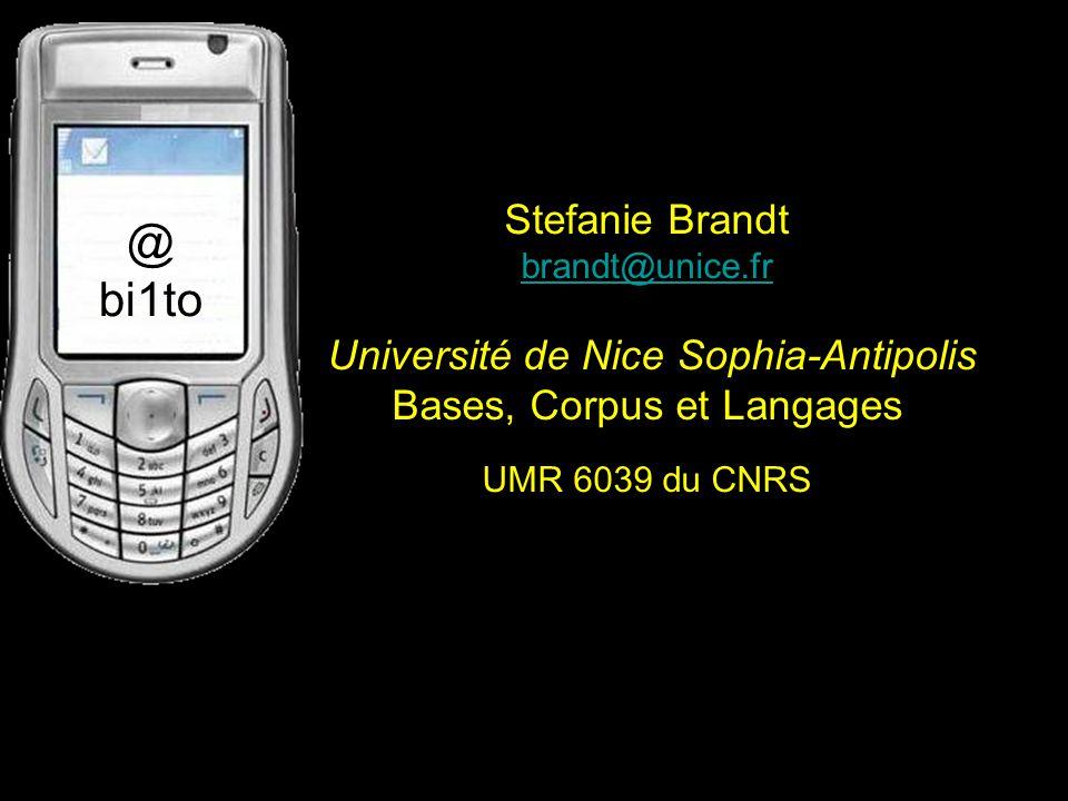 Stefanie Brandt brandt@unice