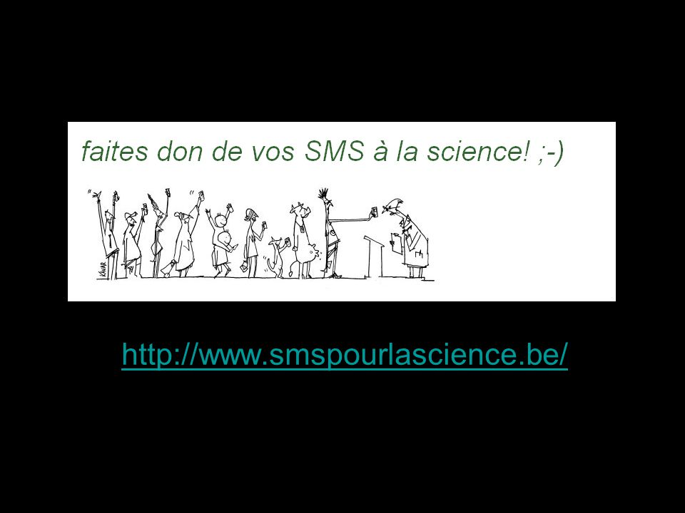 http://www.smspourlascience.be/