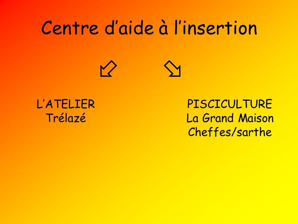 Centre d'aide à l'insertion