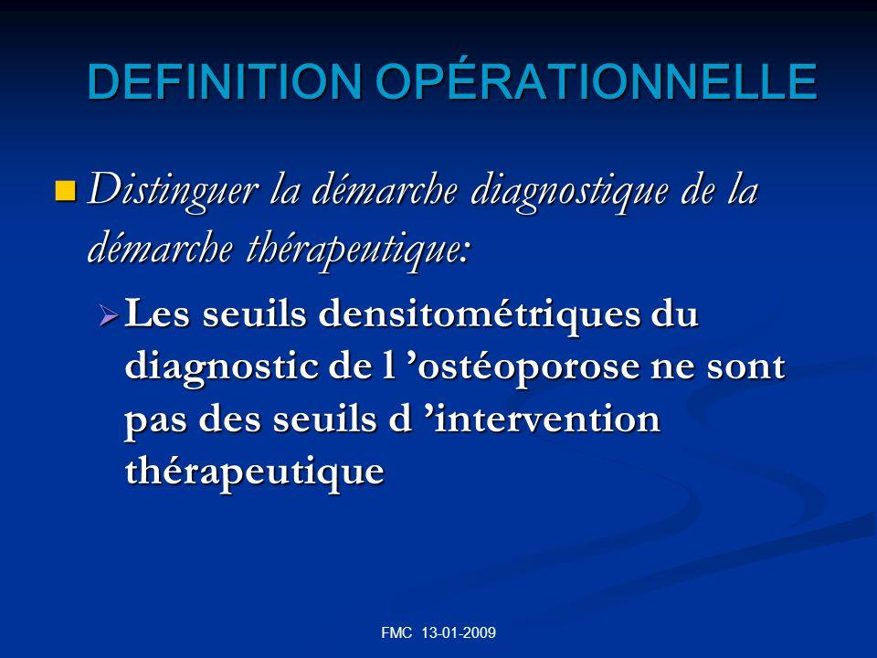 DEFINITION OPÉRATIONNELLE