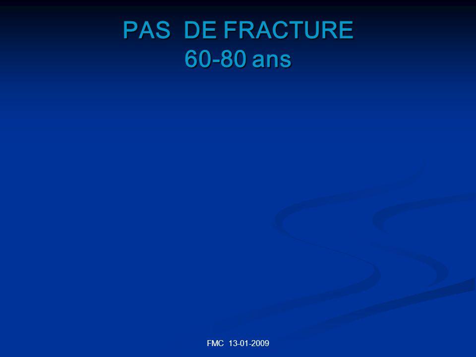 PAS DE FRACTURE 60-80 ans FMC 13-01-2009