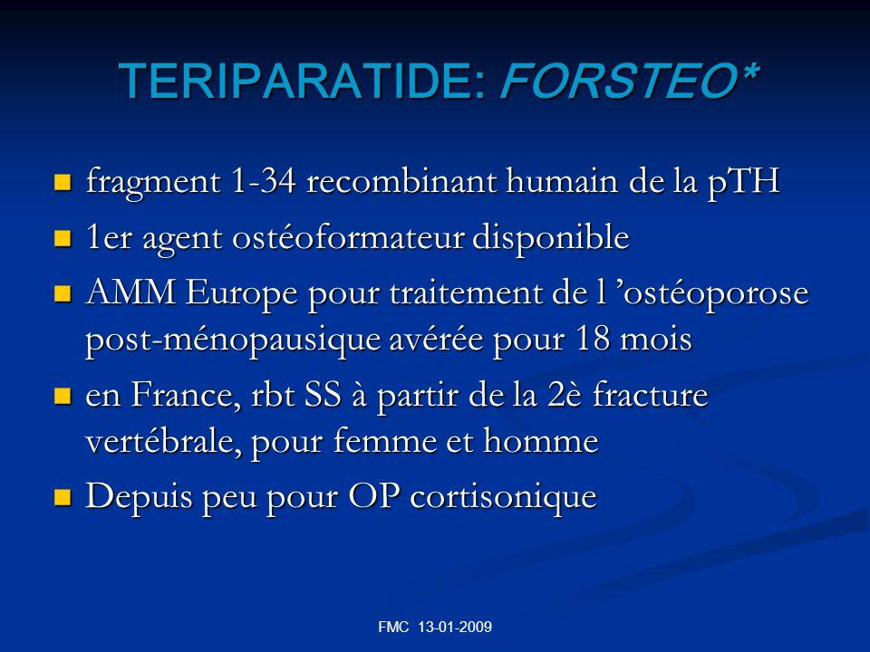 TERIPARATIDE: FORSTEO*