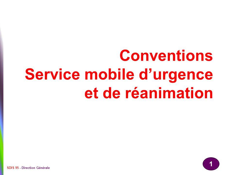 Conventions Service mobile d'urgence et de réanimation