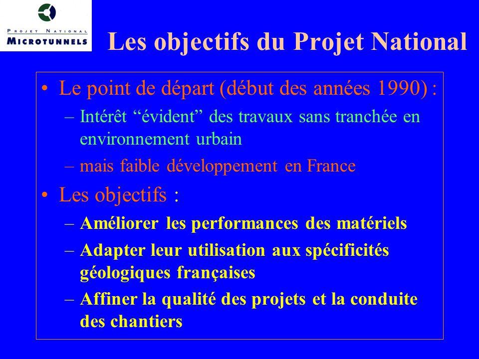 Les objectifs du Projet National