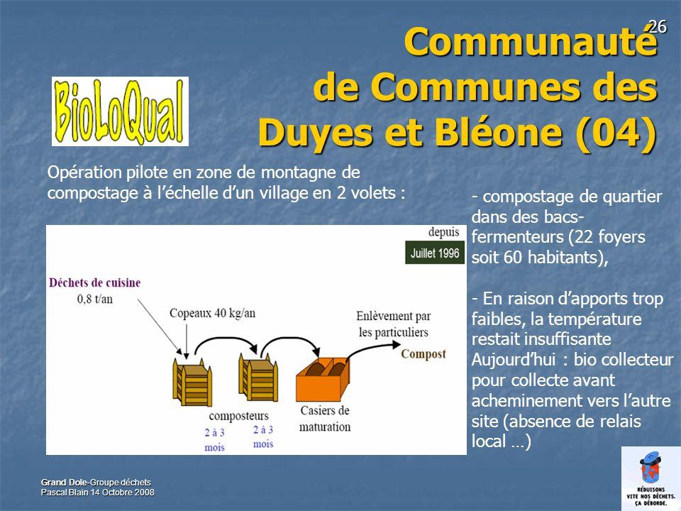 Communauté de Communes des Duyes et Bléone (04)