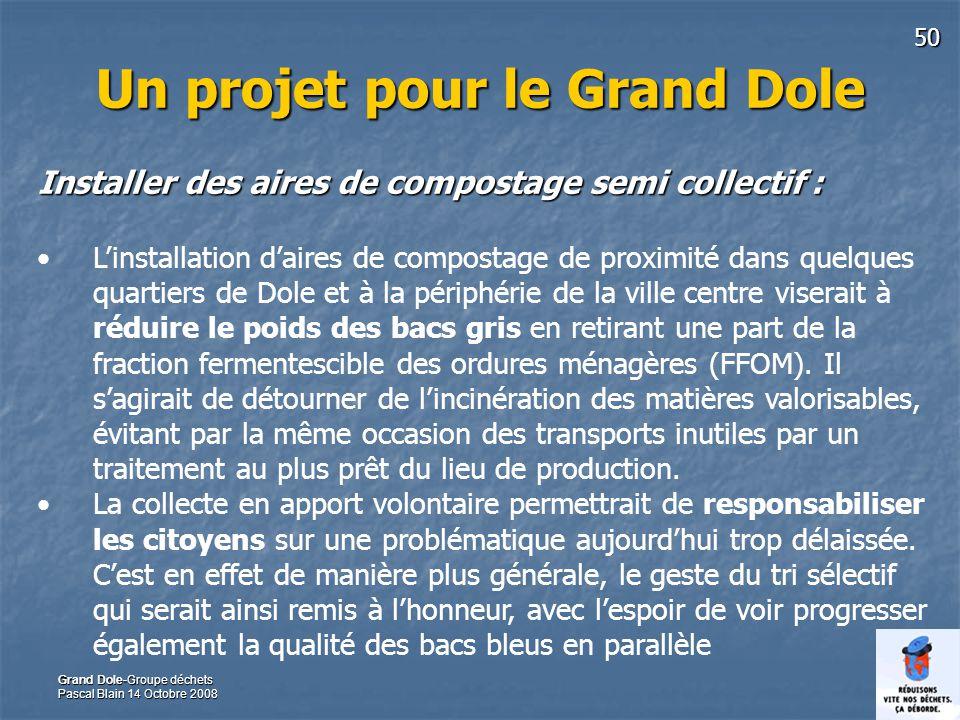Un projet pour le Grand Dole