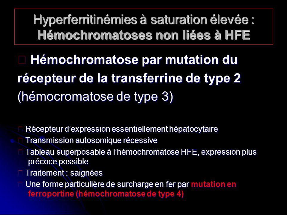  Hémochromatose par mutation du
